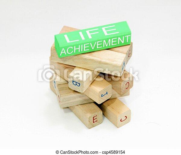 life achievement - csp4589154
