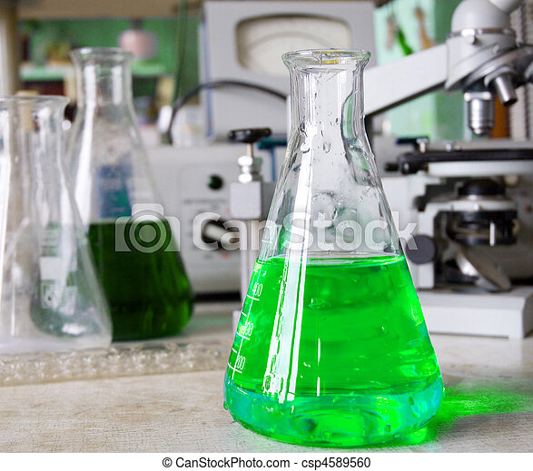 Chemical laboratory - csp4589560