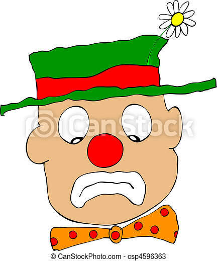Face Clipart Sad Clown | Volvoab