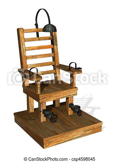 Illustrations de chaise lectrique lectrique chaise - Execution en direct chaise electrique ...