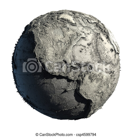 Dead Planet Earth - csp4599794