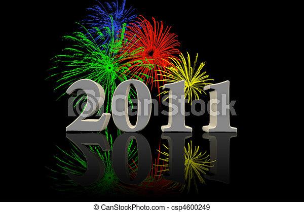 Silvester 2011 - csp4600249