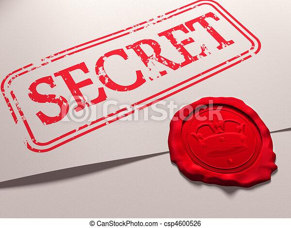 Secret document - csp4600526