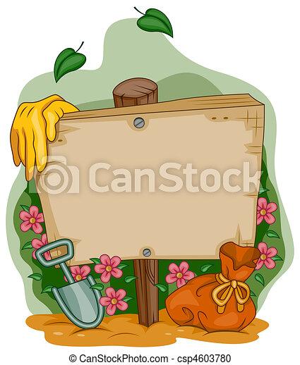 Garden Frame - csp4603780