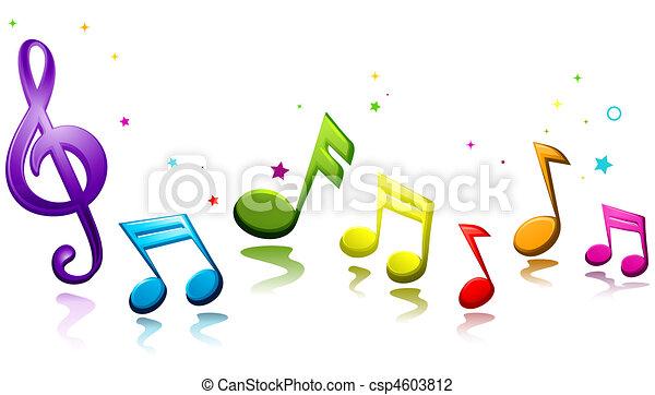 Musical Rainbow - csp4603812