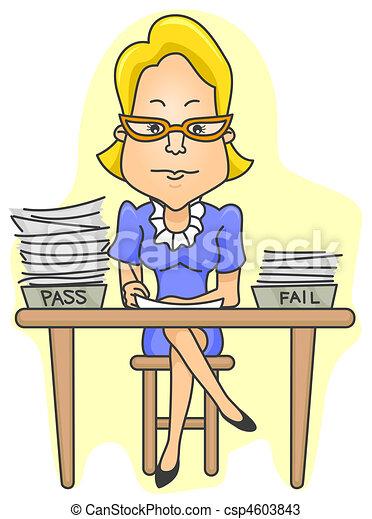 Teacher Grading - csp4603843