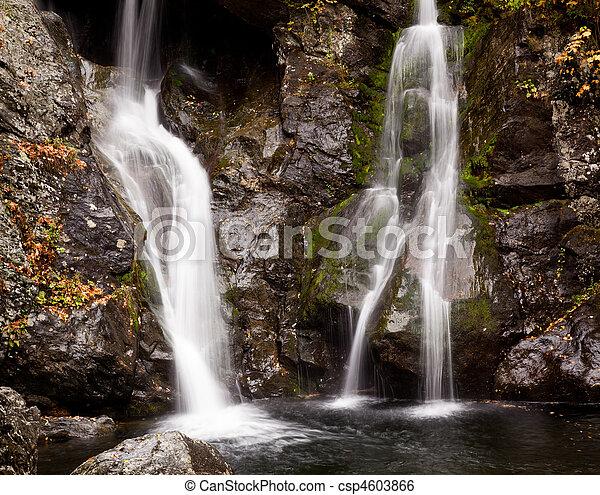 Bash Bish falls in Berkshires - csp4603866