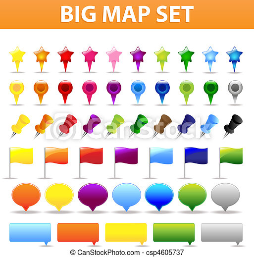Big Map Set - csp4605737