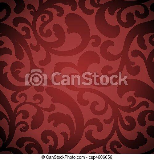 Elegant organic seamless pattern - csp4606056