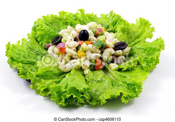 Macaroni Salad Clipart Macaroni Salad Csp4606110
