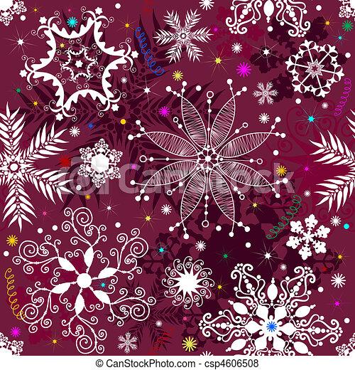 vektor von seamless lila weihnachten muster schneeflocken bunte csp4606508 suchen sie. Black Bedroom Furniture Sets. Home Design Ideas