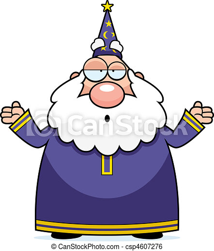 Wizard Confused - csp4607276