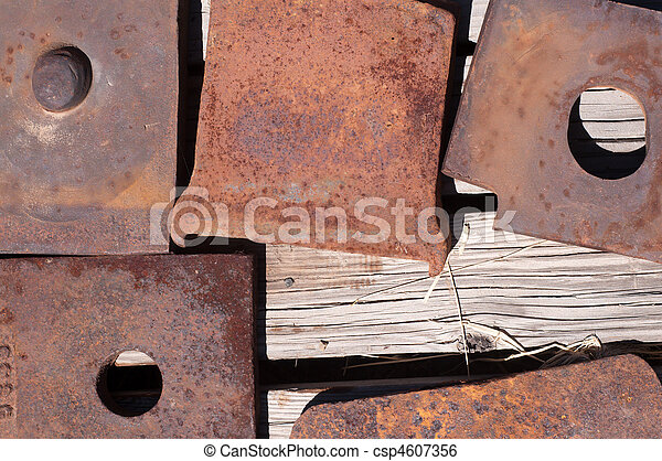 Rusted Iron Plates