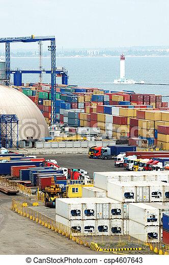Container terminal - csp4607643