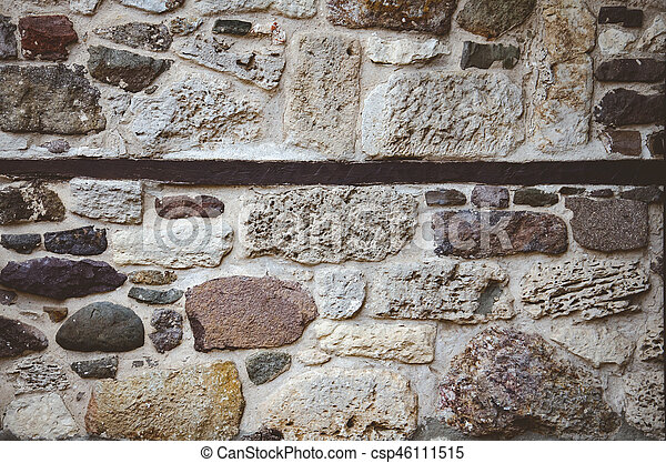 abstract background with brutal stones - csp46111515