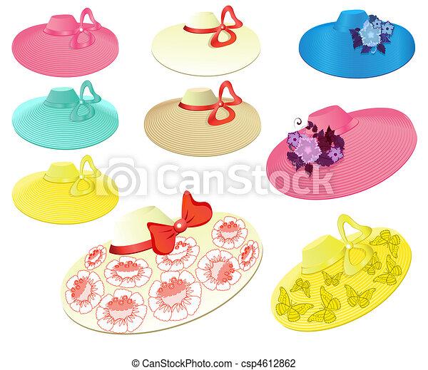 Women's summer hats - csp4612862