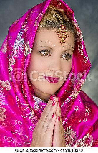 archivi fotografici di prayerful  donna  india donna Praying Hands Clip Art Black and White free prayer clipart border