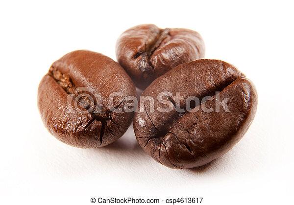coffee beans; macro image - csp4613617
