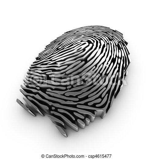 3d fingerprint representation for authentication or recognition - csp4615477