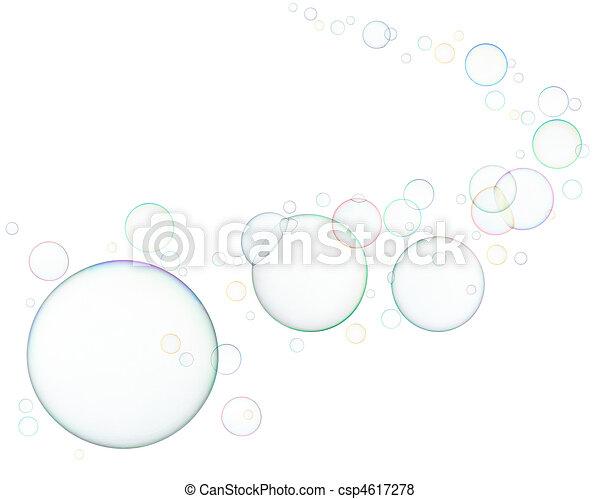 soap bubbles - csp4617278