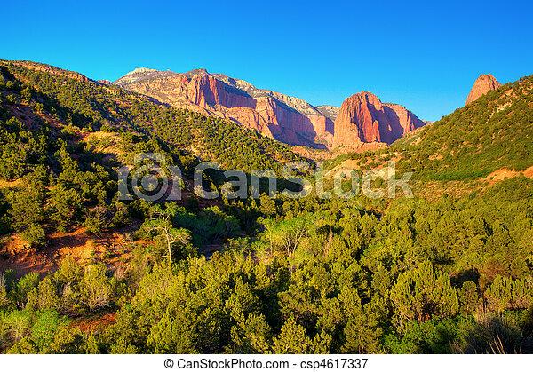 Zion National Park - csp4617337