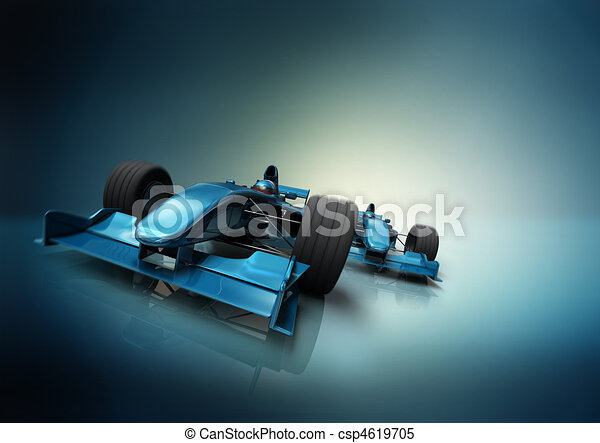 formula one cars - csp4619705