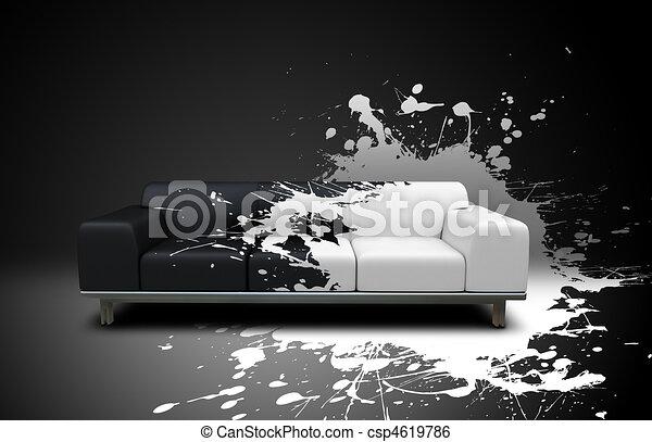 splash sofa - csp4619786