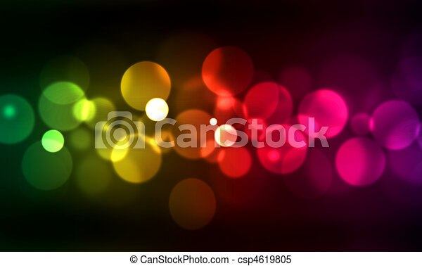 blurred lights - csp4619805
