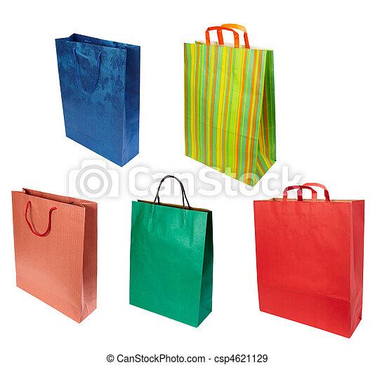 väska, konsumentupplysning,  shoping, berätta - csp4621129