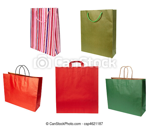 shoping bag consumerism retail - csp4621187