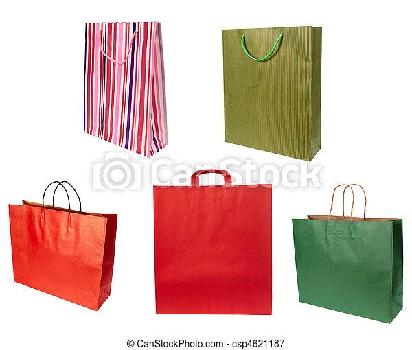 shoping bag consumerism retail - csp4621187