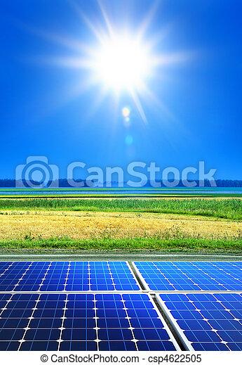 Energie, erneuerbar - csp4622505