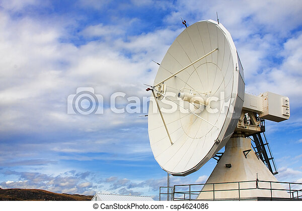 Satellite Dishes at National Radio Astronomy Observatory - csp4624086
