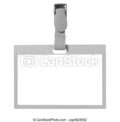 name tag identity  - csp4624552