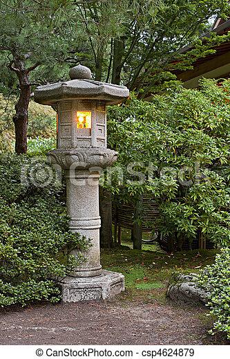 banque de photographies de pierre 2 lanterne japonais jardin stone lantern. Black Bedroom Furniture Sets. Home Design Ideas