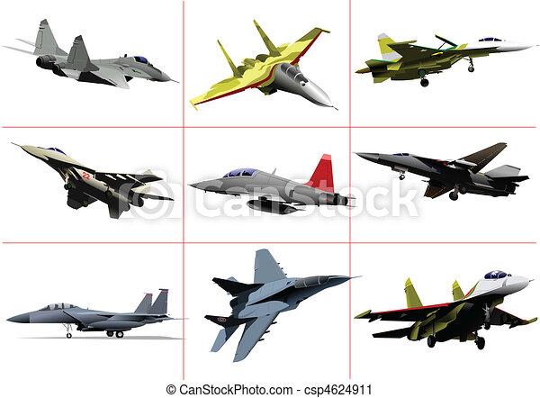 Vector combat aircraft - csp4624911