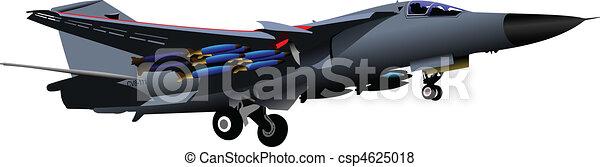 Vector combat aircraft - csp4625018