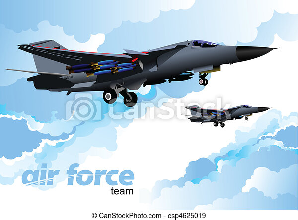 Vector combat aircraft - csp4625019