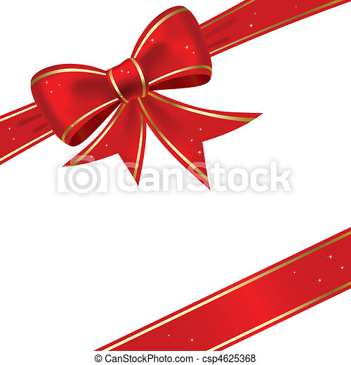 Christmas bow - csp4625368