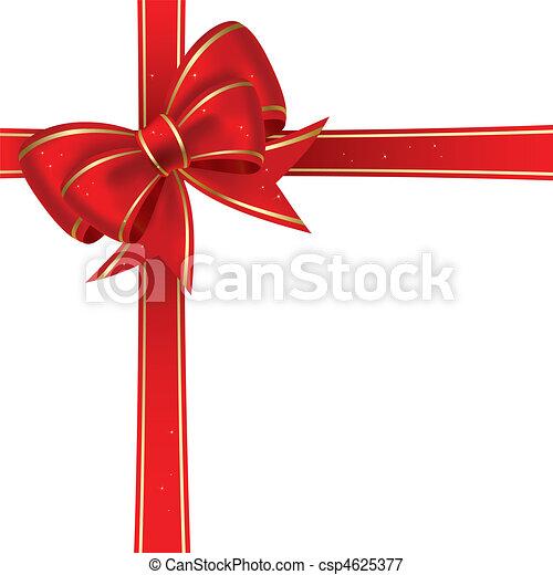 Christmas bow - csp4625377