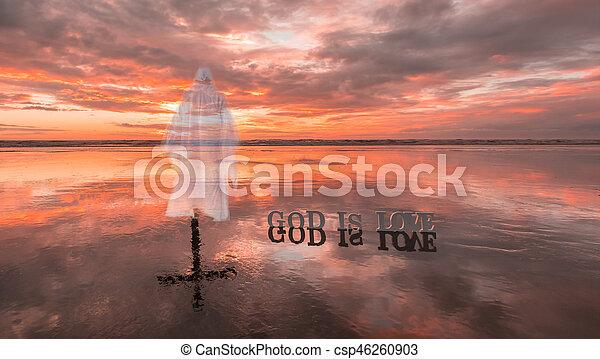 Jesus Love - csp46260903