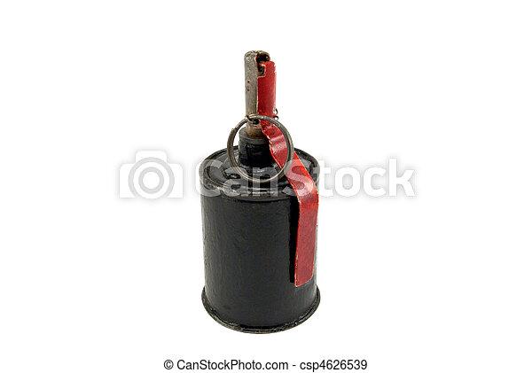 antigas, granada, mão - csp4626539