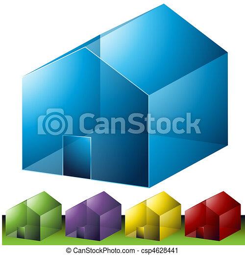 Residential Neighborhood Icons - csp4628441