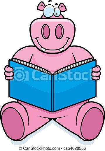 Hippo Reading - csp4628556