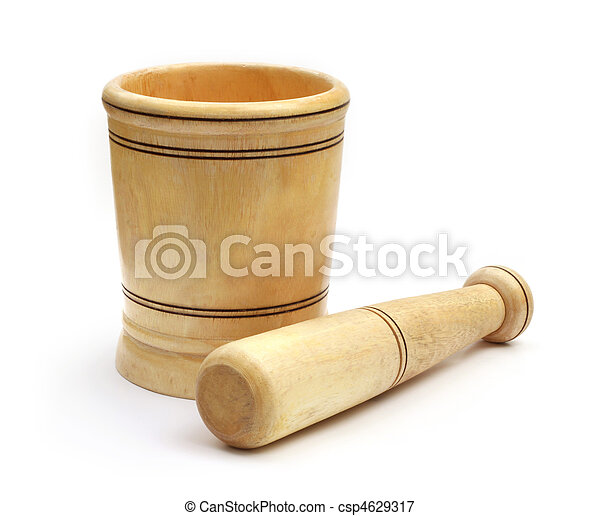 Mortar with pestle - csp4629317