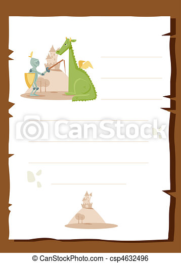 Fairy tale background - csp4632496