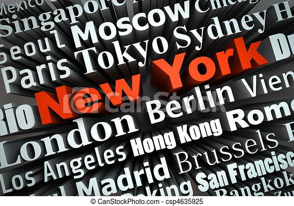 Metropolis New York - csp4635925