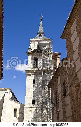 Catedral de Alcala de Henares, in rehabilitation - csp4635938