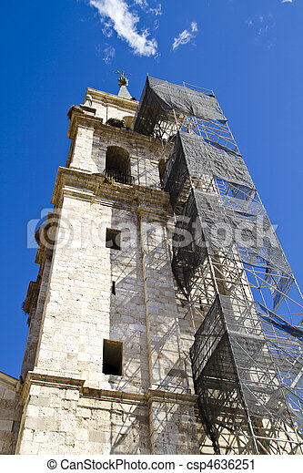 Catedral in rehabilitation - csp4636251