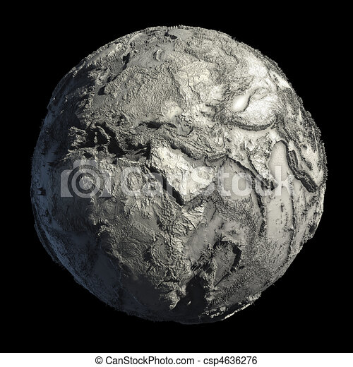 Dead Planet Earth - csp4636276